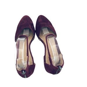 Eileen Fisher Shoes - Eileen Fisher Hutton Ankle Strap Flat Raisin Color